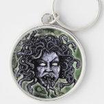 Medusa Gorgon Key Chain