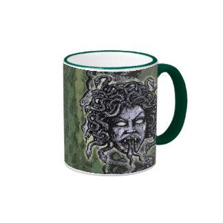 Medusa Gorgon Ringer Mug