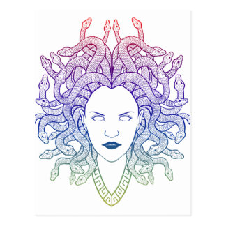 Medusa Head Postcard