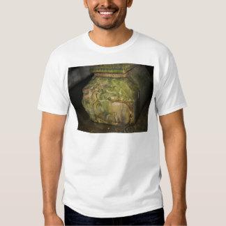 Medusa Head Sculptures Basilica Cistern Istanbul Tee Shirt