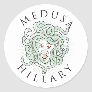 Medusa Hillary -- Sticker 1