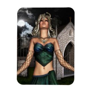 Medusa Maiden Flexible Magnet