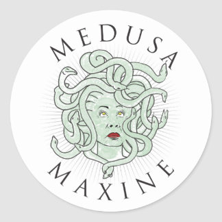 Medusa Maxine -- Sticker 1