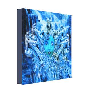 Medusa Metamorphosis Canvas Print