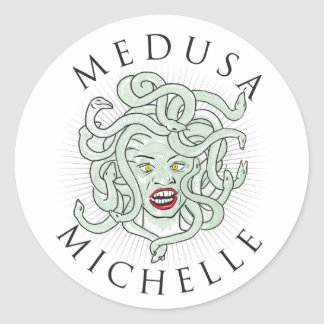 Medusa Michelle -- Sticker 1