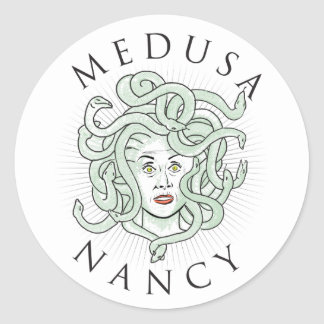 Medusa Nancy Pelosi -- Sticker 1