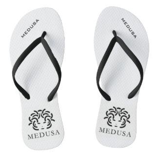 """""""MEDUSA"""" Pair of Flip Flops"""