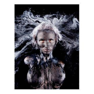 """""""Medusa"""" postcard by Cyril Helnwein"""
