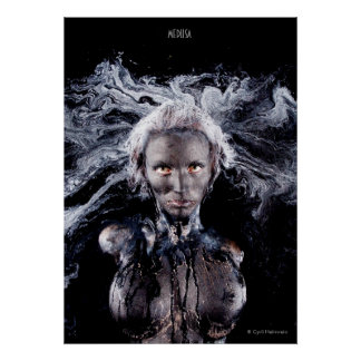 Medusa poster by Cyril Helnwein