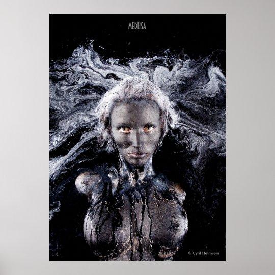 """Medusa"" poster by Cyril Helnwein"