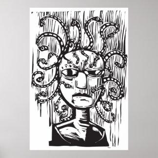 medusa print