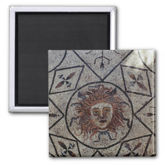 Medusa, Roman mosaic from the House of Orpheus Refrigerator Magnet