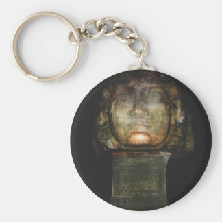 Medusa Sculpture Key Chains