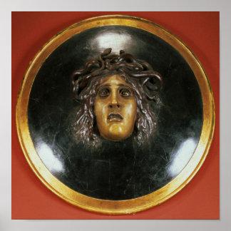 Medusa shield print