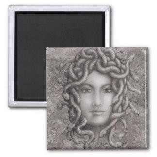 Medusa Square Magnet