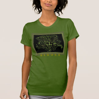 Medusa (women's) color tee by AncientAgesPrints