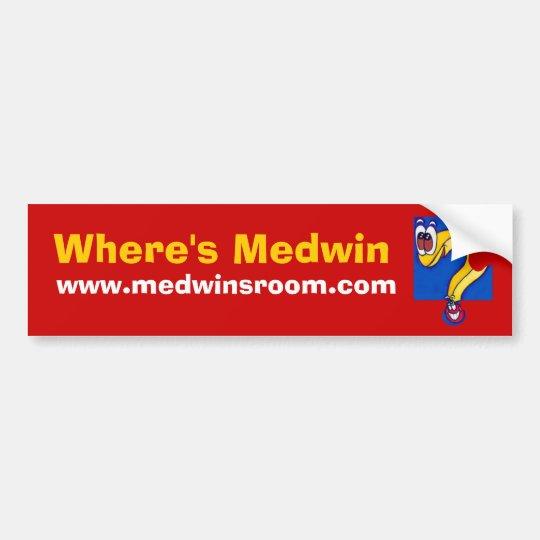 Medwin Question Bumper Sticker