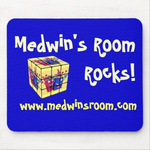 Medwin's Room Rocks! Mousepad