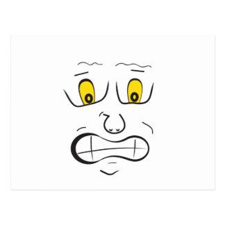Meee.......frightened!! Postcard