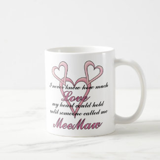 MeeMaw (I Never Knew) Mother's Day Mug