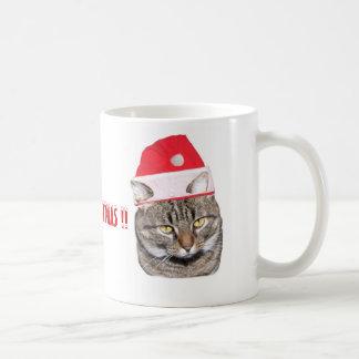 Meeowee Christmas Mug