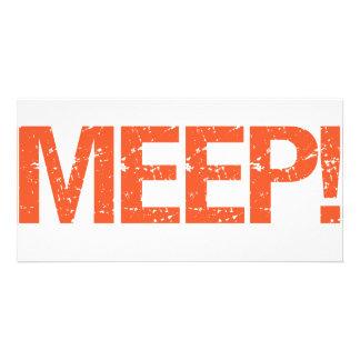 Meep Customised Photo Card