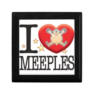 Meeples Love Man Small Square Gift Box