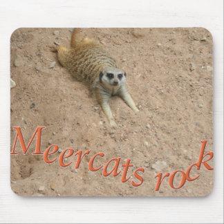 Meercats rock mousepad