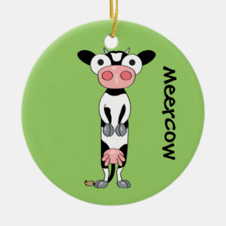 Meercow Christmas Ornament