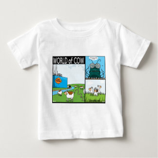 Meercows, fly's contacts and fish poo baby T-Shirt