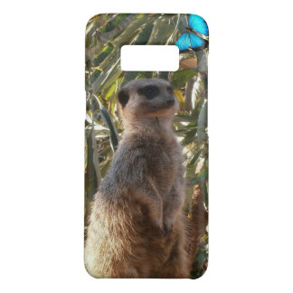 Meerkat And Blue Butterflies, Case-Mate Samsung Galaxy S8 Case