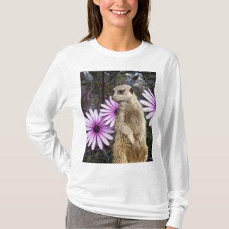 Meerkat And Daisies T-Shirt