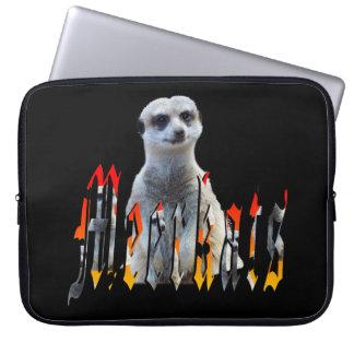 Meerkat And Meerkat Logo, Laptop Sleeve