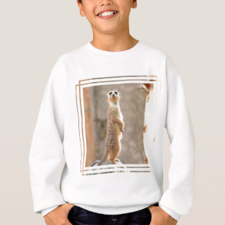 Meerkat at Attention Youth Sweatshirt