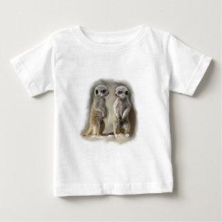 Meerkat baby twins baby T-Shirt