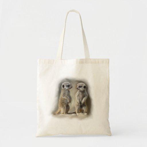 Meerkat baby twins bag