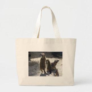 Meerkat Canvas Bags