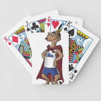 meerkat bicycle playing cards