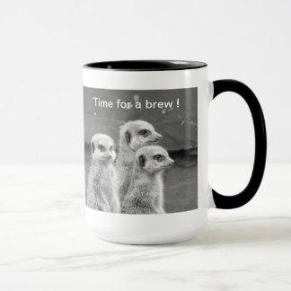 Meerkat break time ! mug