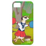 Meerkat cheerleader iPhone 5 case
