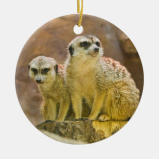 meerkat christmas ornament