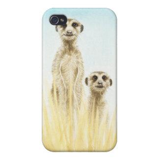 Meerkat Cover For iPhone 4