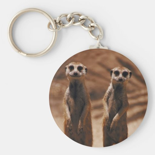 Meerkat Duo Keychains