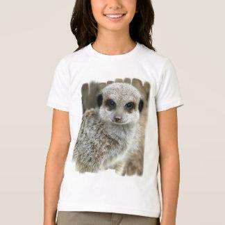 Meerkat Face Girl's T-Shirt
