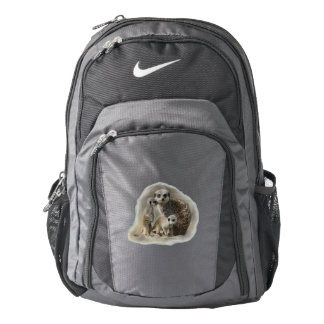 Meerkat family backpack