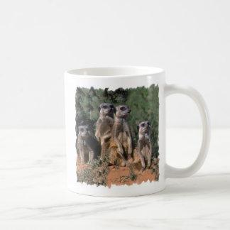 MEERKAT FAMILY PORTRAIT mugs