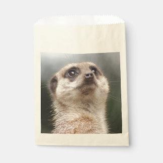 Meerkat Favour Bags