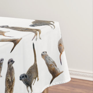 Meerkat Frenzy Tablecloth (choose colour)