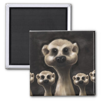 Meerkat fridge magnet