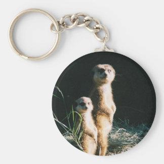 Meerkat Friends Keychain